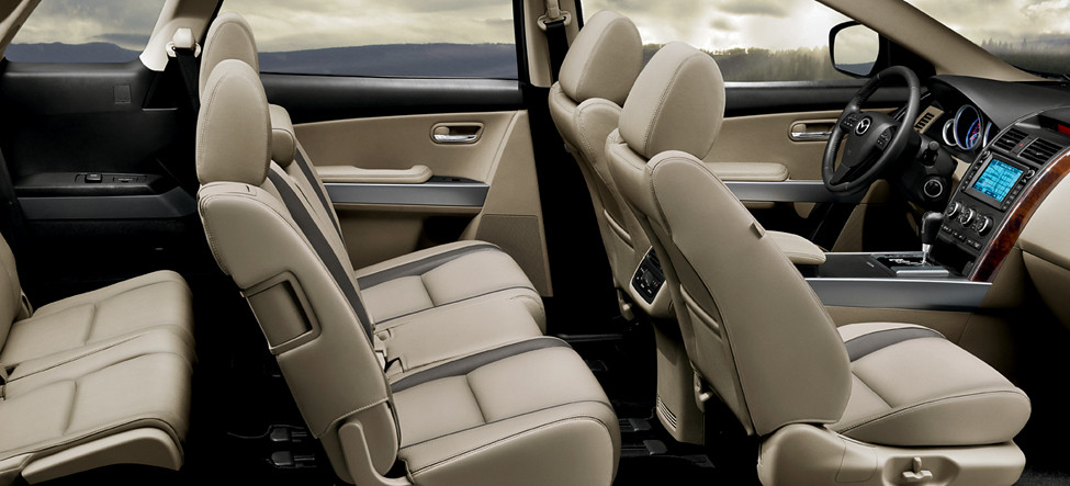 2012 Mazda Cx 9 Interior The Spacious Second Row Of The
