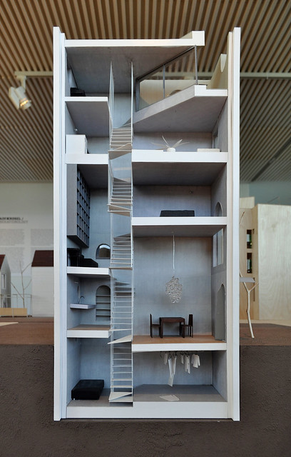 Atelier Bow Wow Sectional Model Of House Tower Tokyo