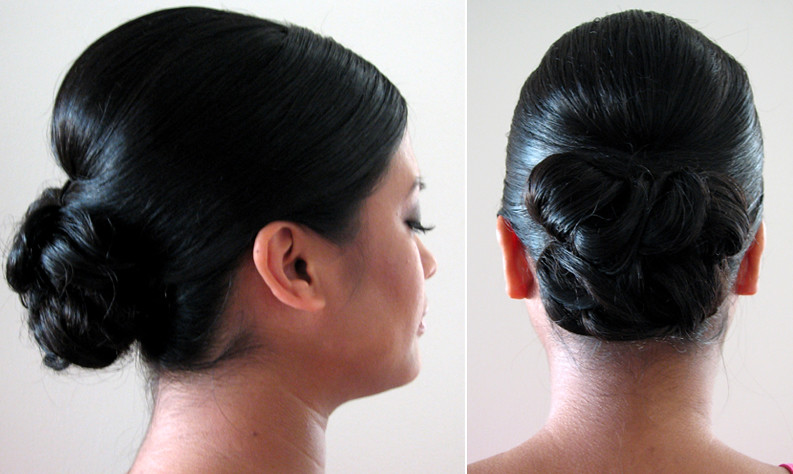 Asian Hairstyle Wedding Updo Victoria Flickr