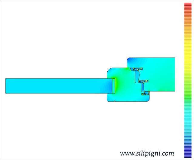Trasmittanza termica serramenti intensit flusso - Trasmittanza serramenti ...