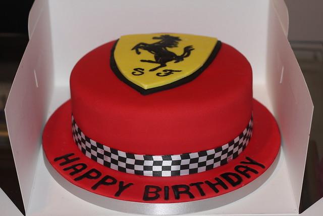 Ferrari Themed Cakes