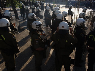 Thousands of riot police on duty to protect Greek PM during visit to Thessaloniki | by Teacher Dude's BBQ
