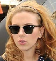 scarlett-johansson-ray-ban-3016-clubmaster-sunglasses   by  JenniferFisher2011 ... 745003828d33