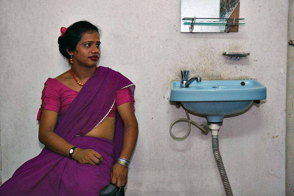Shumona Hijra In The Office - Chittagong  Bangladesh -4043