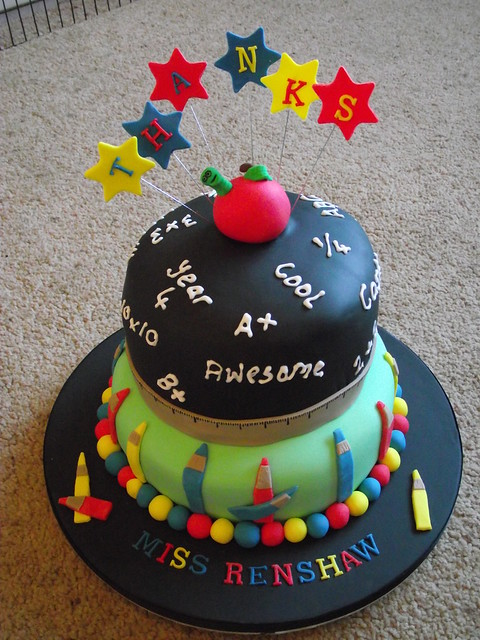 Cake Images For Teacher : Teacher cake Flickr - Photo Sharing!