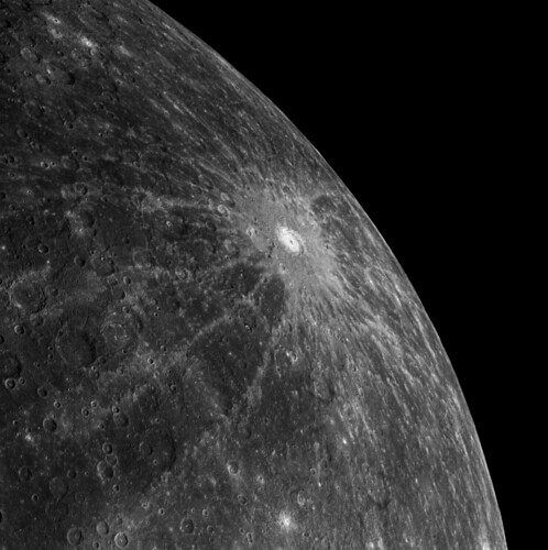 Mercury's Debussy Crater | by Lights In The Dark