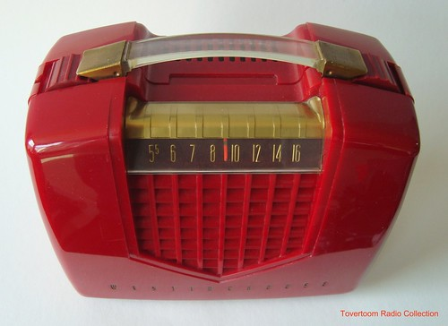 WESTINGHOUSE Portable Tuberadio Model H-400P4 (USA 1953) | by MarkAmsterdam
