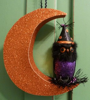 Halloween Owl In The Moon | by MissConduct*