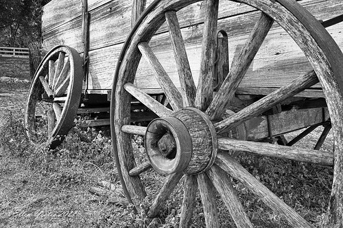 Salado Wagon Wheels | by Ellen Yeates
