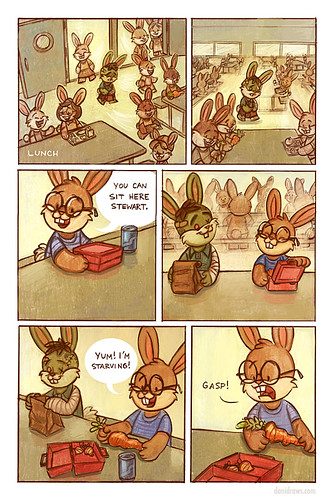 Zombie Bunny Page 2 | by DaniDraws