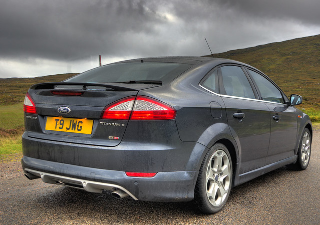 ford mondeo titanium x sport rear hdr flickr photo sharing. Black Bedroom Furniture Sets. Home Design Ideas