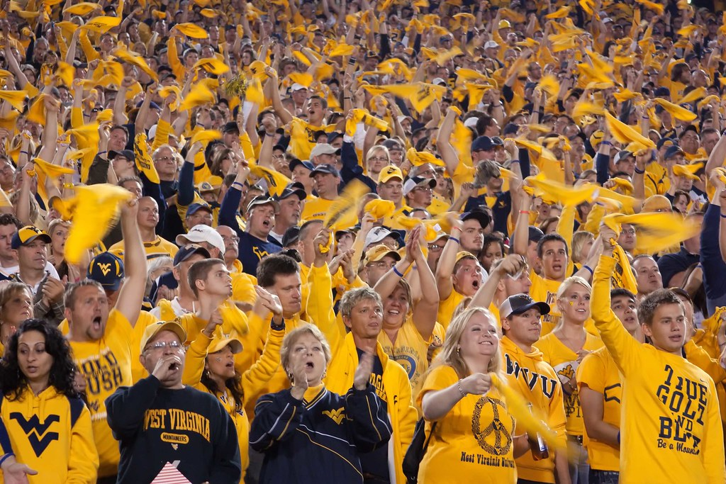 Image result for west virginia football fans
