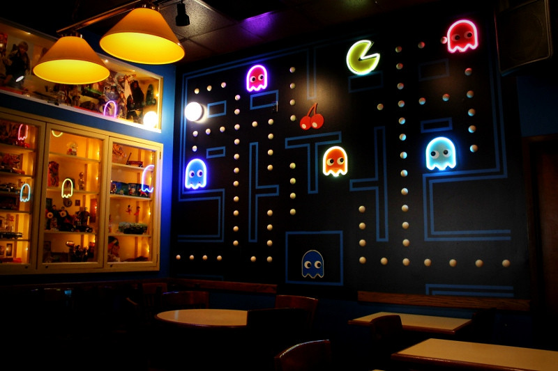 The Pac Man Room