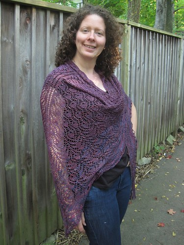 Oct9-Shawl8 | by crazyknittinglady