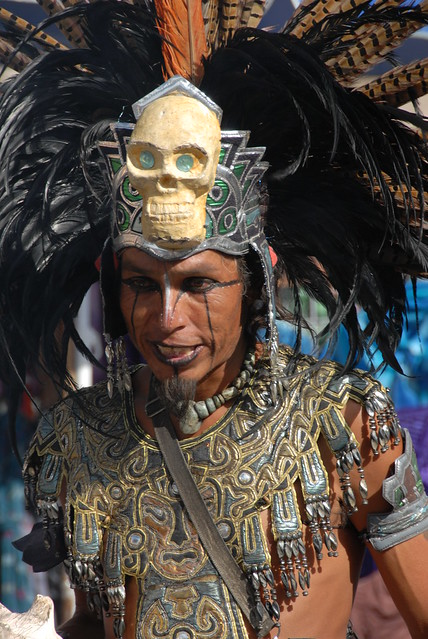 Be C Ed Z on Aztec Dancer In Mexico