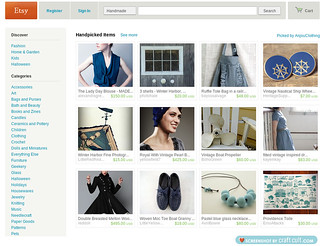 Etsy front page | by heartofglassbeads