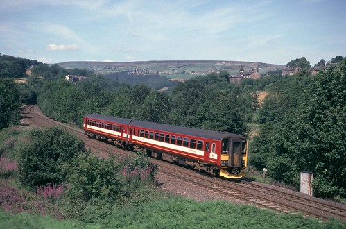 155344 near Luddenden Foot on the Calder Valley Line | by RyanTaylor1986