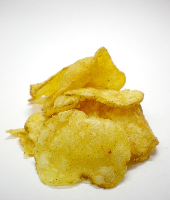 how to make chips from baby potatoes