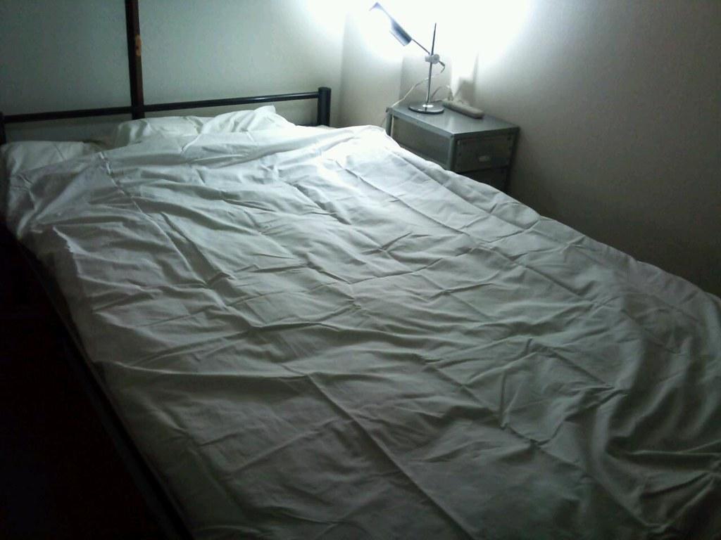 ... 約一ヶ月ぶりに布団とベッドが合体!夢にみた無印の
