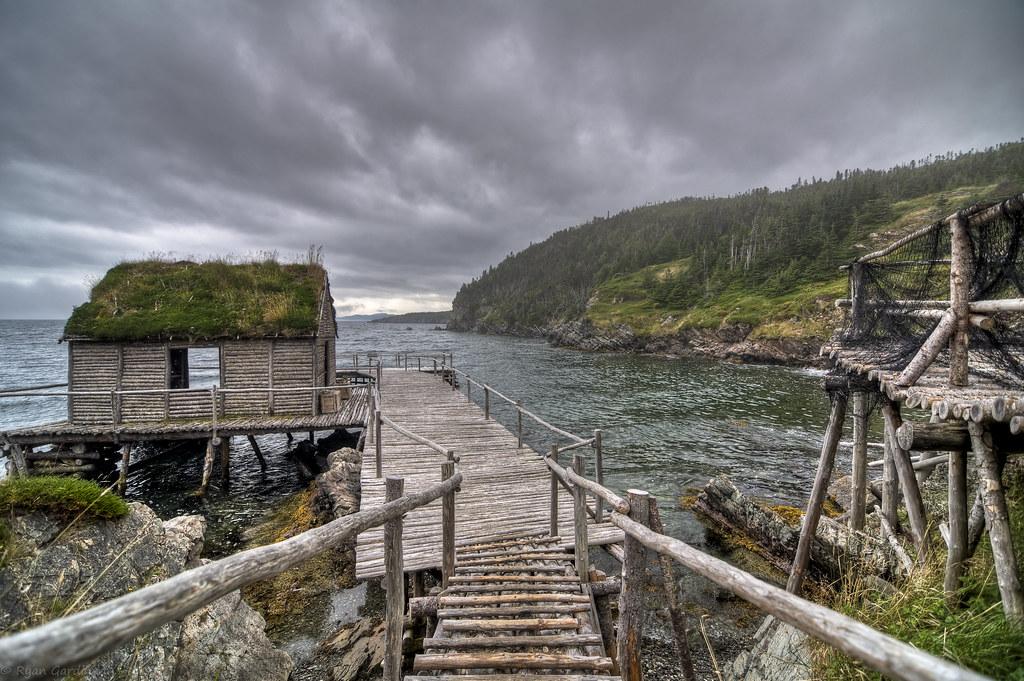 Old fishing village trinity bay newfoundland canada for Trinity bay fishing report