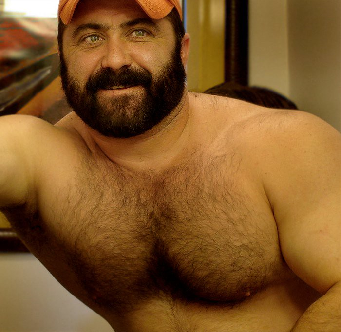 Big muscle bear gay