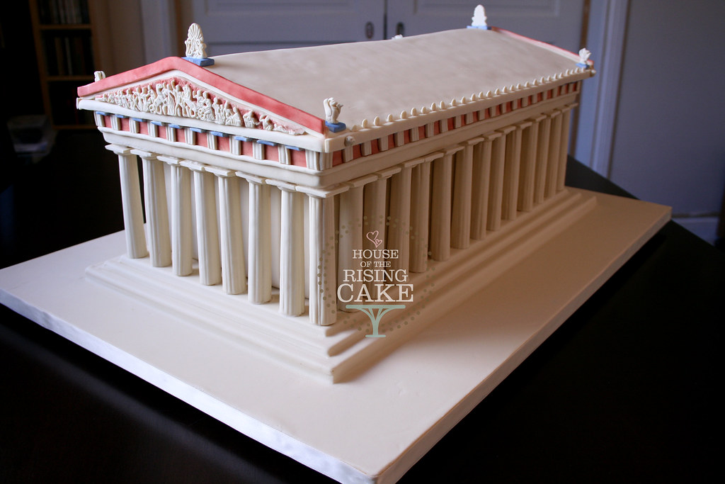 Parthenon Cake Parthenon Cake Chocolate Cake With