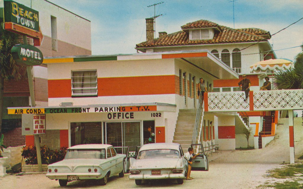 Beach Town Motel & Apts. - Daytona Beach, Florida