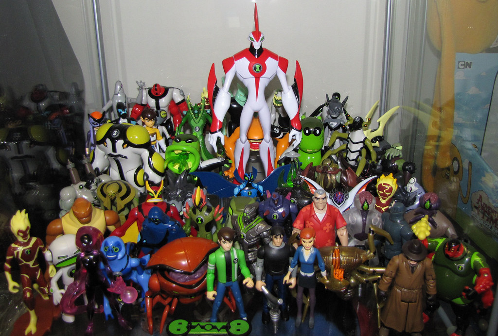 Need More Space For Ben 10 Added Way Big Several Of