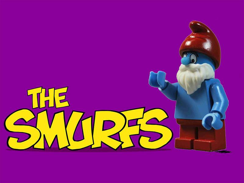 Papa Smurf | Finally got around to finishing Papa Smurf Bio:… | Flickr