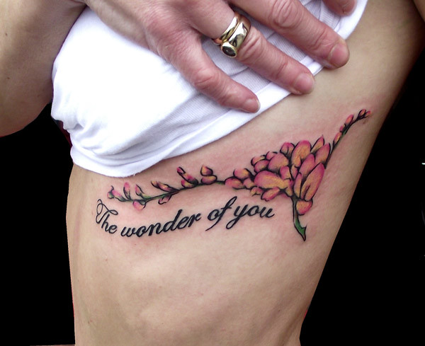 fuschia and lyric memorial tattoo chris hatch tattoo artis flickr. Black Bedroom Furniture Sets. Home Design Ideas