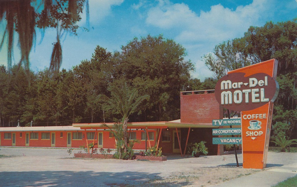 Mar-Del Motel - DeLand, Florida
