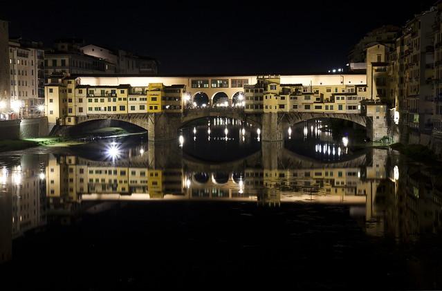 Ponte Vecchio bridge at night | Flickr - Photo Sharing!
