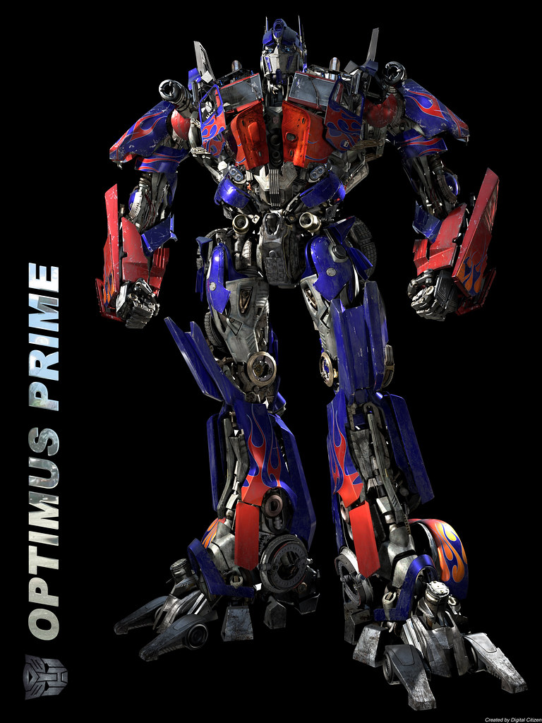 optimus prime transformer giant 28 x 24 poster capcomkai flickr