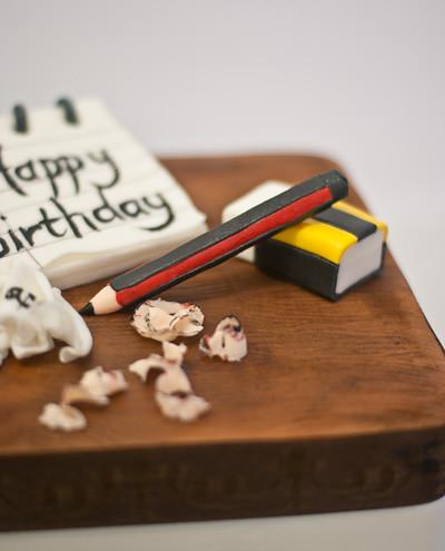 Happy Retirement And Birthday Cake