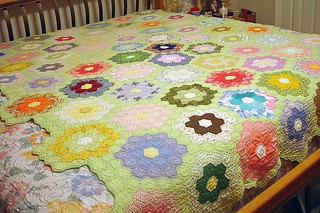 Flower Garden Completed 4 | by Quilted Lovelies