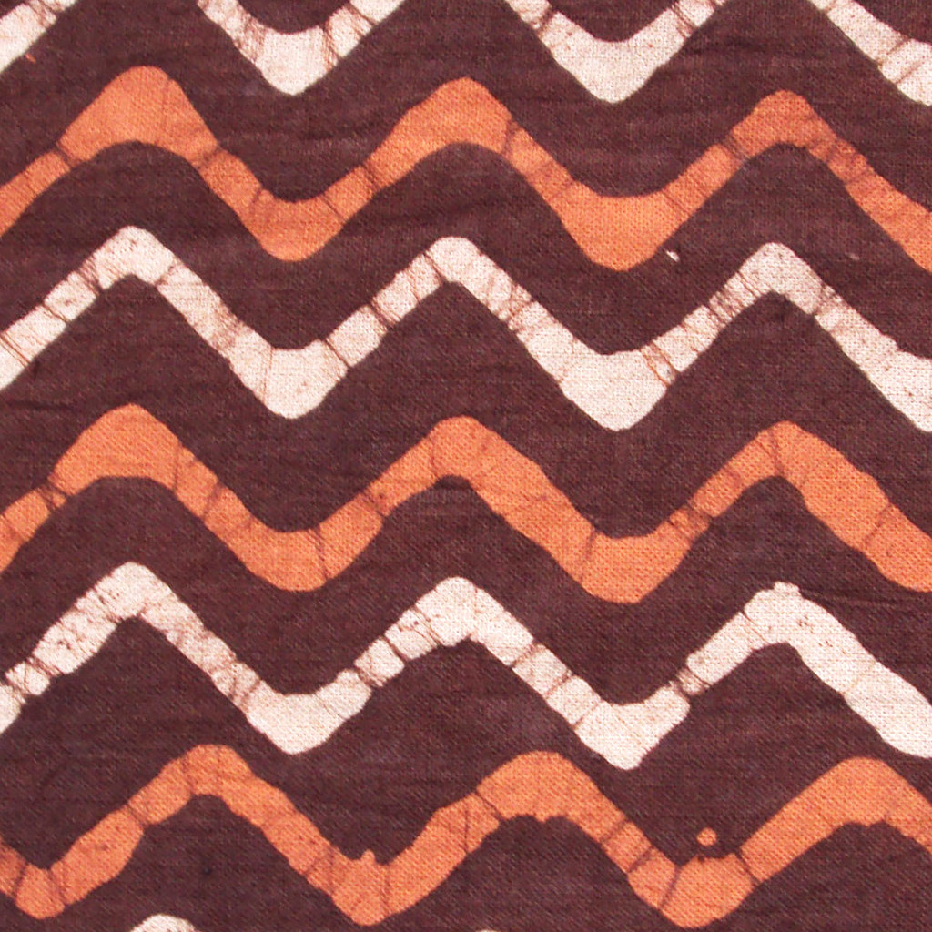 indian block print cotton fabric chevron print | indian hand… | Flickr