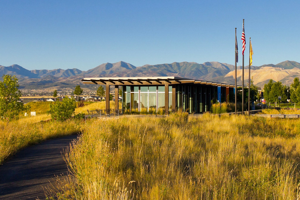 The Glass House In Daybreak Utah Taken In Daybreak Utah