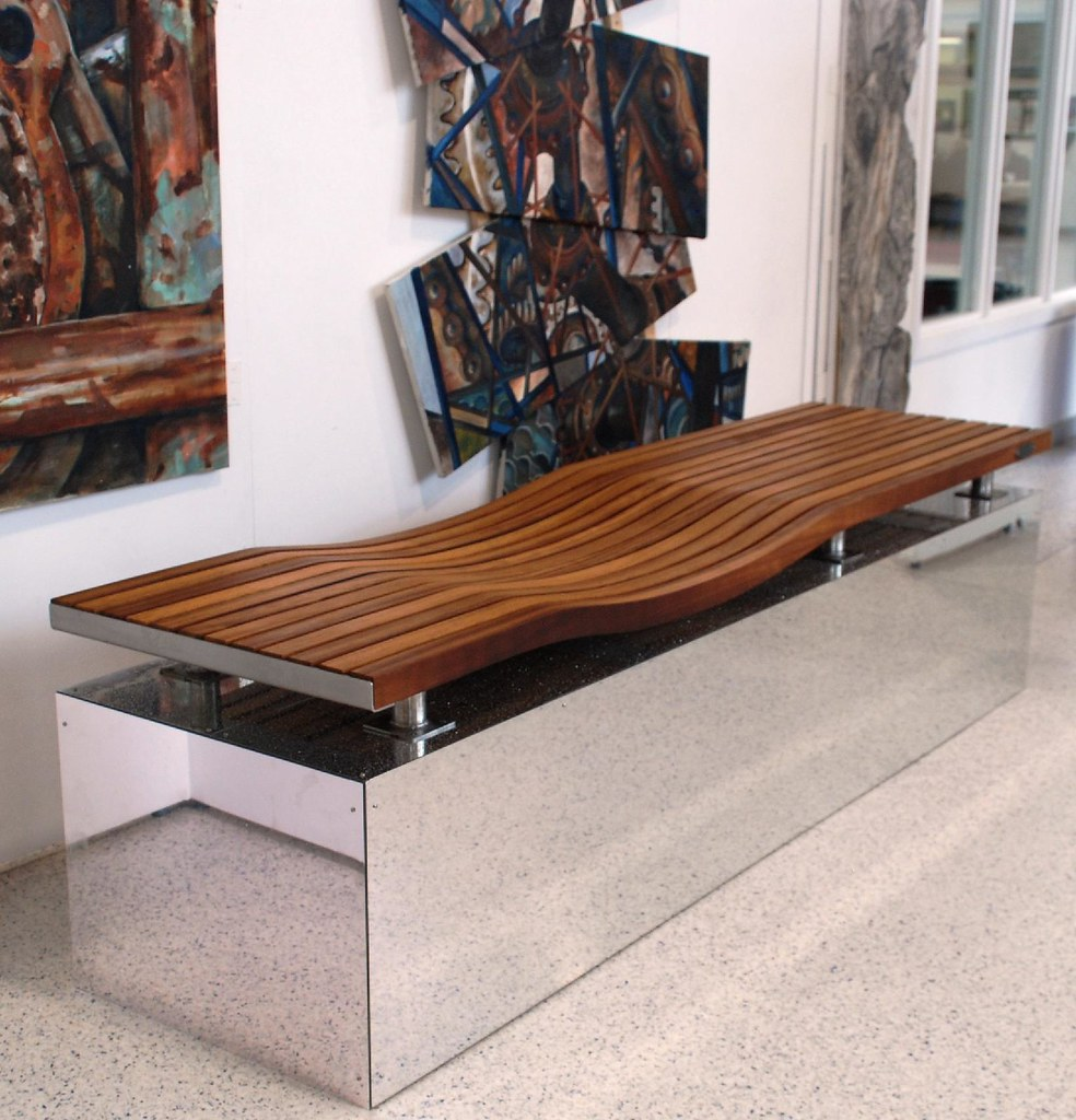 Contemporary urban street furniture