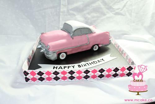 Pink Cadillac Cake Megumi Suzuki Flickr