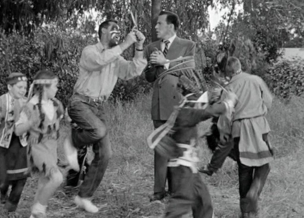 Cary Grant Hugh Marlowe In Monkey Business 1952