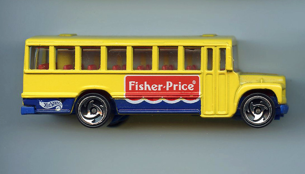 Great Britain: Hot Wheels Ford School Bus - Fisher Price | Flickr