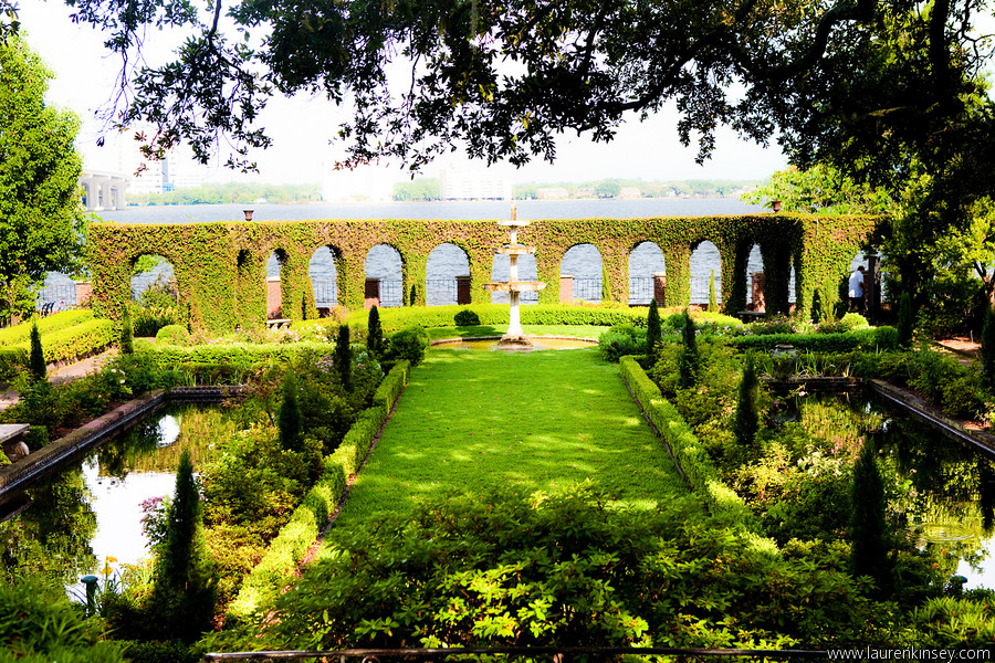 The Cummer Museum Italian Garden Inspired By A Trip Nina Flickr