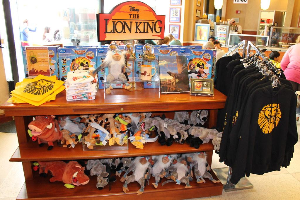 The Lion King Merchandise Disney S Soda Fountain