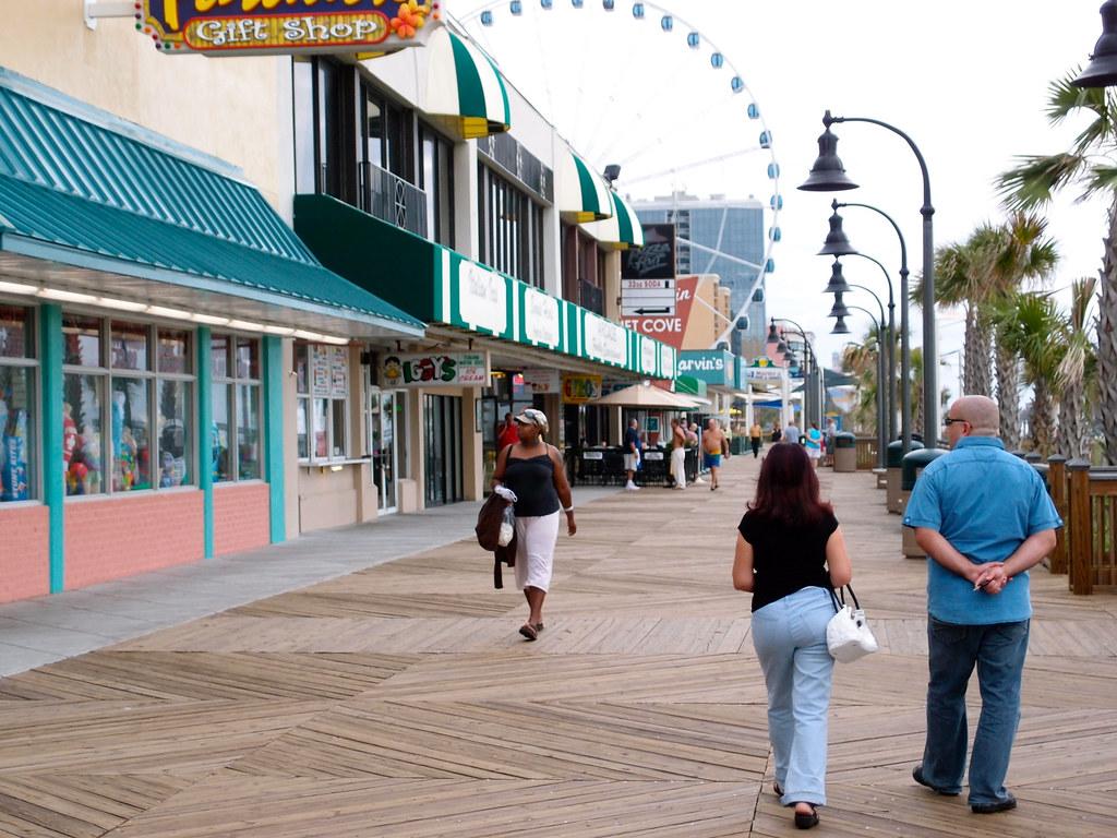 Myrtle Beach Boardwalk North Or South