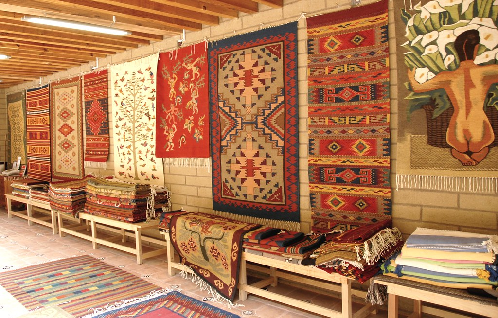 Zapotec rugs oaxaca wool rugs and wall hangings - Tapetes de lana ...