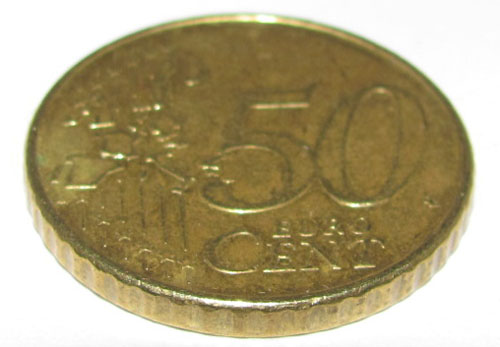50 Euro Cent Coin Die 50 Euro Cent Münze Bachberger Flickr