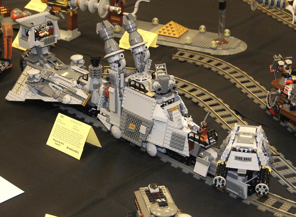 Lego Steampunk Train Lego at at Raillery Train by
