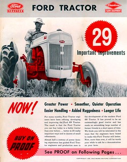 Ford Tractor Ad. | by bemymack