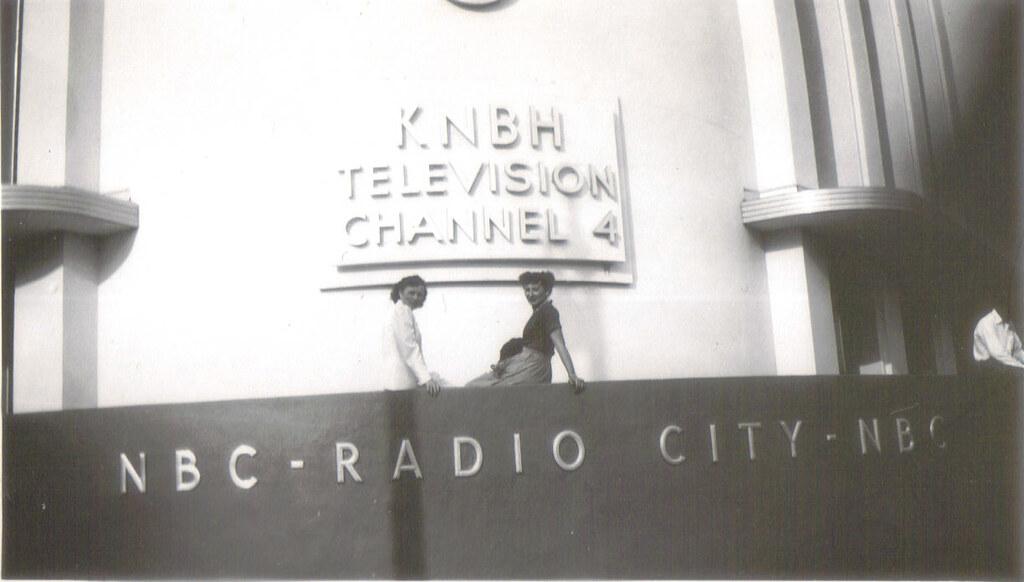 Nbc Radio City Sunset And Vine Hollywood 1949 Frances