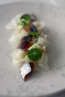 blue makerel sashimi | by David Lebovitz